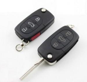 奥迪C5A6遥控车钥匙