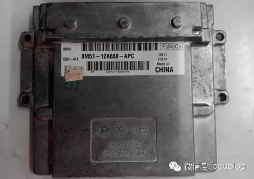 福克斯发动机电脑8M51-12A650-APC