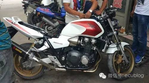 本田CB1300摩托车钥匙全丢匹配