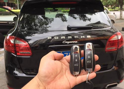 新款保时捷配钥匙死车解决方法