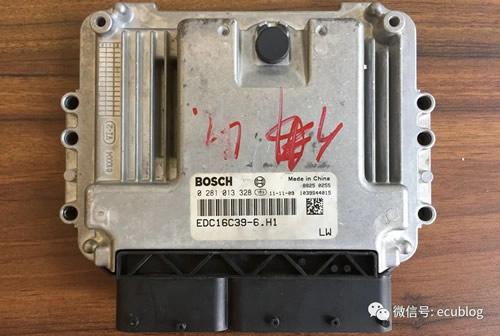 防盗锁死怎么破?彻底解除 博世EDC16C39发动机电脑防盗